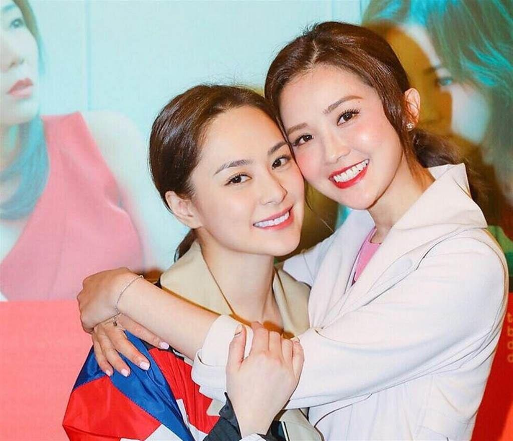 香港女星阿嬌(鍾欣潼)(圖左)。(圖/ 摘自鍾欣潼IG)