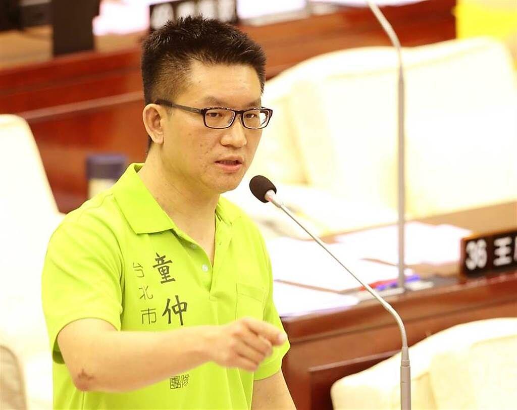 前台北市議員童仲彥證實下海拍AV。(本報系資料照)