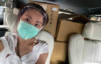 賈永婕再捐120組 「插管神器」曝于美人哭著認購40台PAPR