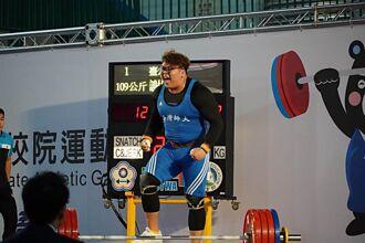 台中之光!舉重大力士謝昀庭代表國家出征奧運