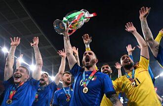 歐國盃》英格蘭PK連丟3球 義大利二度稱霸