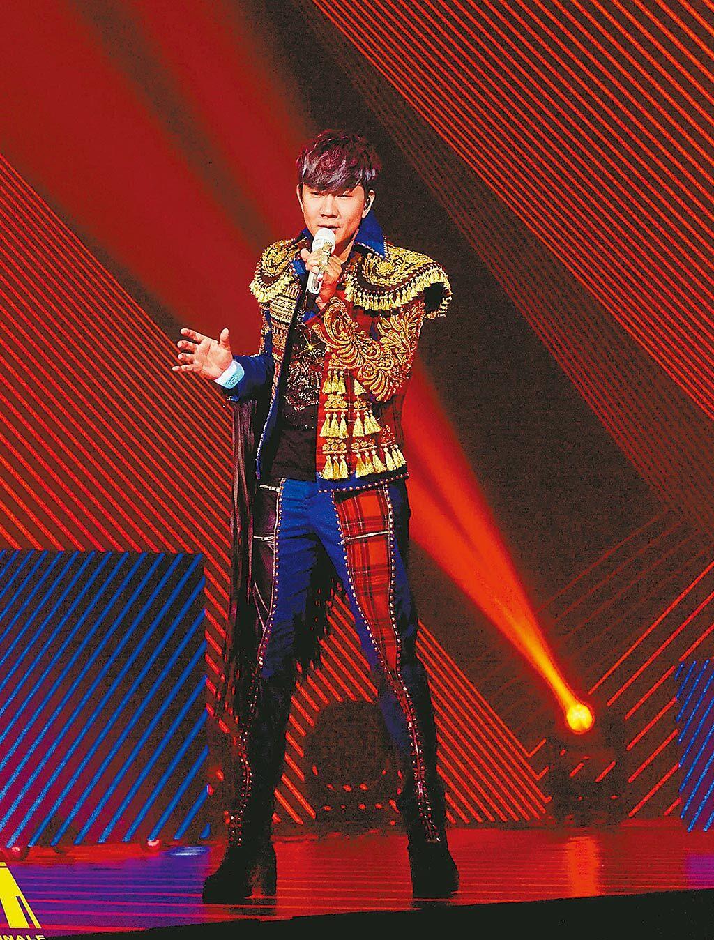 林俊傑上周完成線上演唱會。(JFJ PRODUCTIONS提供)