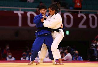 東奧》柔道女將林真豪奪首勝 晉級16強