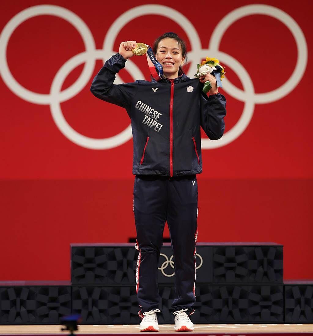 郭婞淳以三破奧運紀錄佳績奪金,網友在PTT發文:「台東是否應設『婞淳路』」紀念這歷史一刻。(圖/季志翔攝)