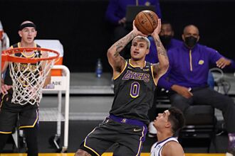 NBA》湖人瘋狂拋售庫茲馬 溜馬拒絕國王考慮