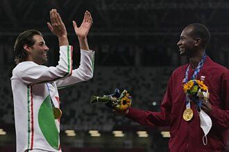 東奧》暌違109年的光輝時刻 義大利、卡達國手共享跳高金牌