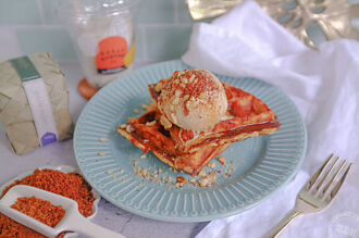 Sugar Bistro愛的分享 教您DIY棕櫚糖冰淇淋鬆餅與情人大啖甜蜜