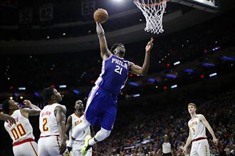 NBA》恩比德4年1.96億續留費城 西蒙斯可能去處曝光
