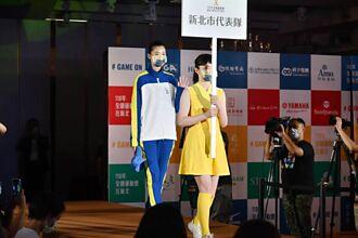 跆拳道甜心羅嘉翎首次當模特兒 伸展台秀全運會設計服