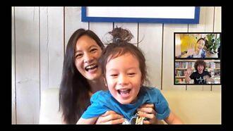 Janet苦笑在家育兒「比工作還累」 4歲兒亂入搶她風采