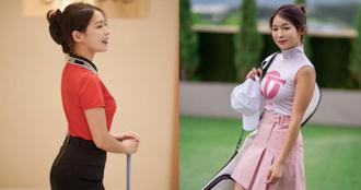 南韓「高爾夫正妹」Becky 狂吸 33 萬粉絲!球衣下的好身材更讓人心動