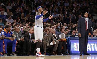 NBA》重提尼克時期宿怨 安森尼重申不想跟禪師和解