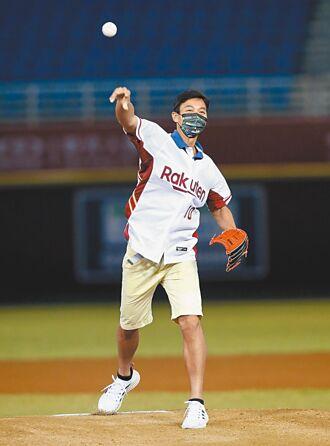 盧彥勳開球 直呼緊張但很溫暖