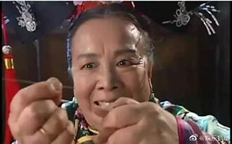 網友瘋傳《還珠格格》23年前哏圖 翻盤「容嬤嬤才是好人」