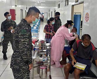 金門縣衛生局遠「針」烏坵 離島完成首劑疫苗接種