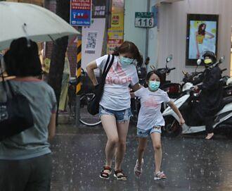 大雷雨炸雲嘉南 中南部山區嚴防短延時強降雨