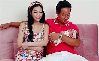 王思佳浮誇滿月禮竟要88萬 愛女正臉曝光五官神複製爸爸