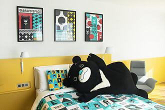 臺北有「熊讚主題房」 邀您和熊讚一起玩樂、入睡