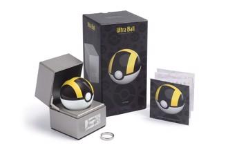 """寶可夢大師進階道具 捕獲高階怪獸必備 1:1 比例""""Ultra Ball""""高級球來了"""