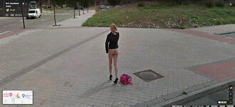 Google地圖驚見翹臀辣妹 地址曝光網友衝了