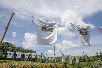 首屆水T藝術節在貢寮 百件T恤傳遞愛