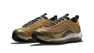 潮流回頭,作舊當道! Nike Air Max 97「Cracked Gold」全新配色官方圖輯釋出,磨損金屬細節超吸睛