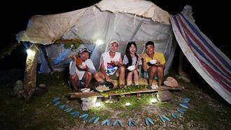 《上山下海過一夜》無人島求生24小時 海漂垃圾搭帳篷難度超高
