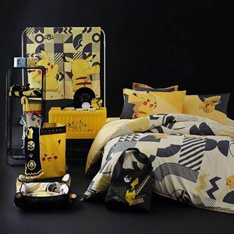 寶可夢最強聯名 黑黃配色超時尚