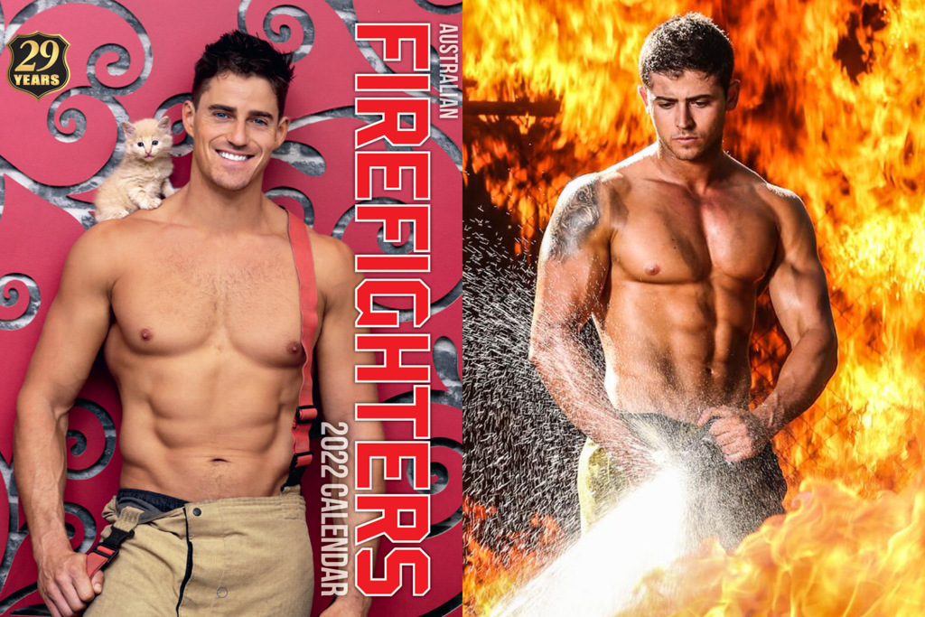 (圖/翻攝自 Australian Firefighters Calendar, Raymond Crapella IG)(大家趕快把這張先存起來!)