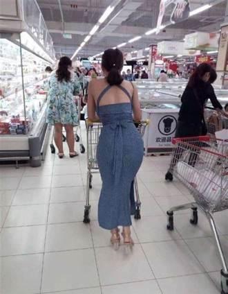 超市驚見「翹臀」正妹 好奇跟看「側面比背面殺」:太銷魂