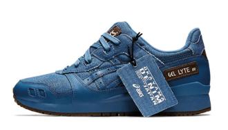 復古丹寧慶祝GEL-Lyte III 鞋款 30 週年!Okayama Denim x ASICS GEL-Lyte III 全新配色「Azure Blue」登場