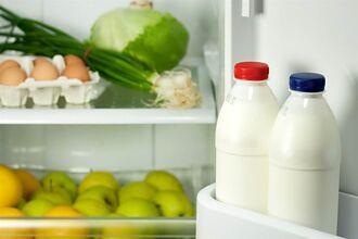 牛奶放冰箱門是錯的 營養師曝正解:不是有冰就好