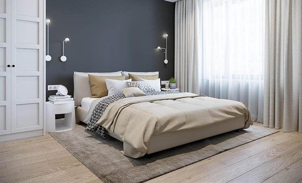 一名網友在規劃裝潢時陷入兩難,不知要客廳大還是房間大。(示意圖/Shutterstock)