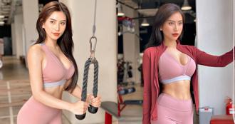 看完她的照片也想做運動了!正妹「健身教練」魔鬼 S 曲線迷倒 51 萬人