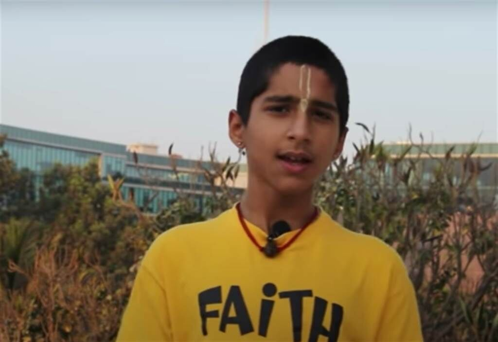 印度神童阿南德最新預言,下波災難將震驚全球。(圖/翻攝自Conscience ,YouTube)