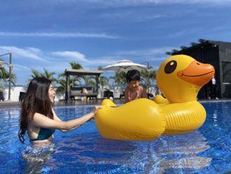 宜蘭黃金住宿首選,不會失望的超美無邊際泳池!