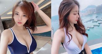 天氣熱就是要游泳!香港女星「歐詠怡」泳裝福利放好放滿