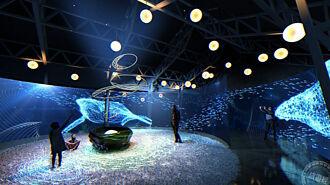 沉浸式燈藝作品-「風起夢境」燈區 10月6日展出