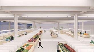百年北門市場重建明年完工 簡約現代風設計獲國家卓越建設獎肯定