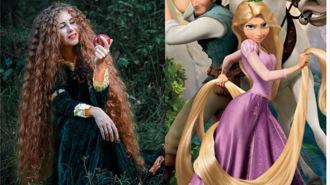 現實版長髮公主!堅持留髮20年原因曝光