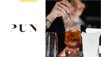 信義安和巷內秘境「PUN」,不只酒類跟食物玩味十足,連找路都讓你印象深刻!