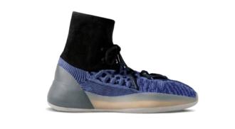 粗曠編織視覺!adidas YEEZY 全新籃球鞋型 BSKTBL KNIT「3D Slate Blue」曝光,球場腳踩 YEEZY 會不會太高調?